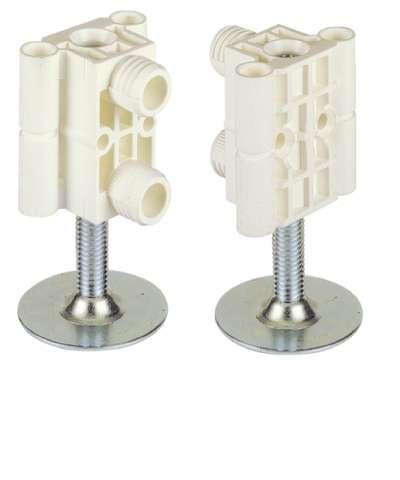 Sockelversteller Systema Top 2000 für Außenwand, 60 - 80 mm