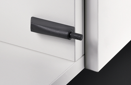 Türöffnungssystem Push to open von Hettich