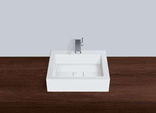 Alape Waschbecken AB.Q450H.1 Weiß