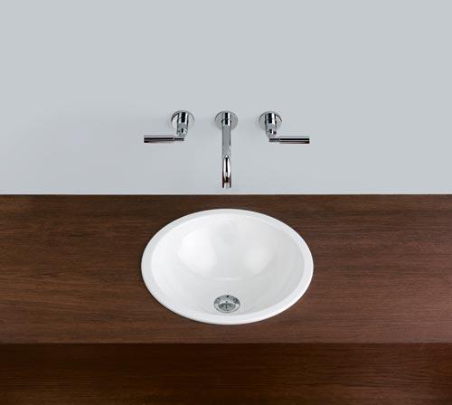 alape waschbecken eb k400 wei ohne berlauf k batec. Black Bedroom Furniture Sets. Home Design Ideas