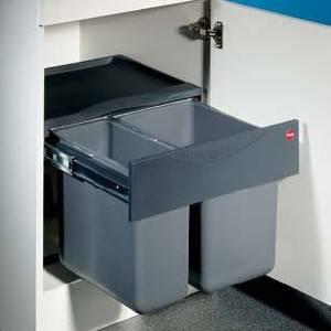 Müllbehälter Tandem-S-2