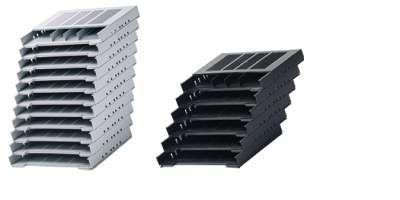 Formularablage Set 11, 392, Aluminium Optik