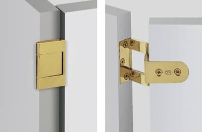 Winkelscharnier 4162, Kröpfung L Links oder Rechts, 40 mm