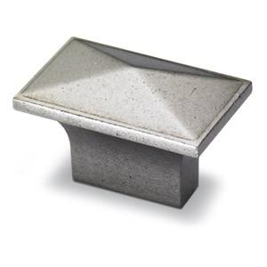 Möbelknopf Tarraco, Zinn Optik
