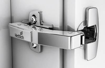 Schnellmontage-Topfscharnier Sensys 8639i W90 mit integrierter Dämpfung