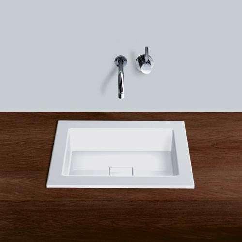 Alape Waschbecken EB.Q450 Weiß