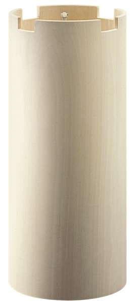 Holzsäule zylindrisch