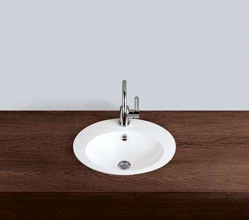 Alape Waschbecken EB.O500H Weiß