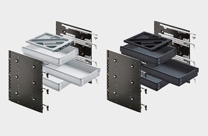 Schnellmontage Container - Sets EB 404 von Hettich