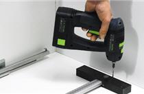 Bohrlehren, Montage Schubkastensystemzubehör von Hettich