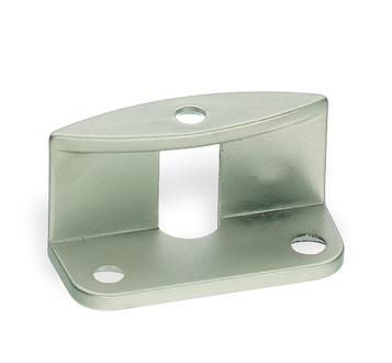 Griffadapter für Faltschiebetüren für 20 mm Türstärken, oval