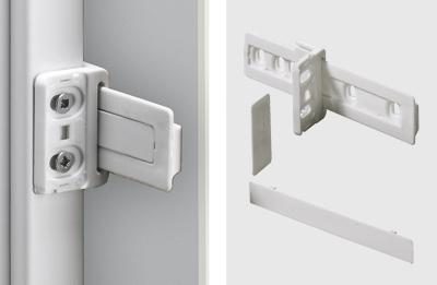 Schleppbeschlag für Kühlschrankumbauten von Hettich