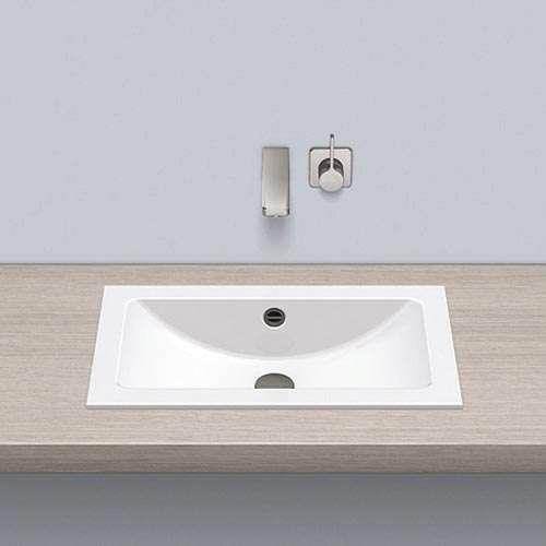 Alape Waschbecken EB.R585 Weiß