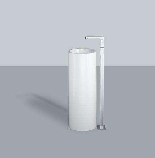 Alape Waschtisch WT.RX325K Weiß, freistehend