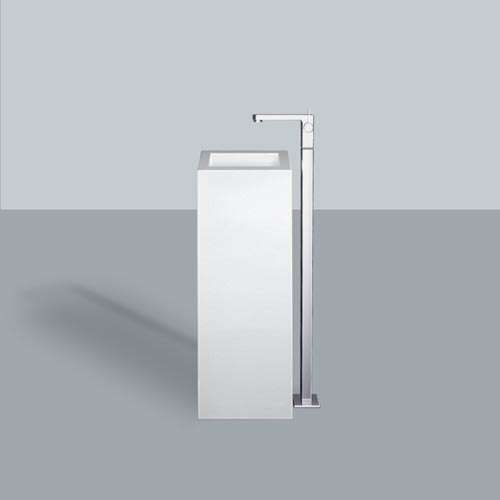 Alape Waschtisch WT.RX325QS Weiß, freistehend