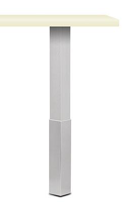 tischbein trampolo 2 viereckig mit h lse k batec. Black Bedroom Furniture Sets. Home Design Ideas