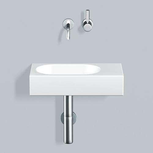 Alape Waschtisch WT.XXS450.L Weiß