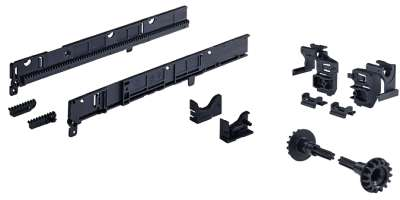 Parallel System, für Korpusbauweise