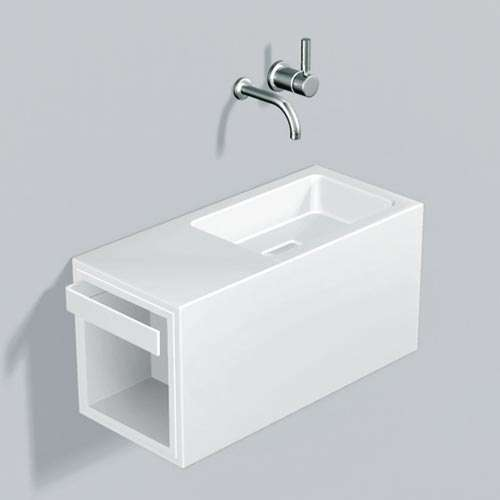 Alape Waschplatz WP.XS4 Weiß