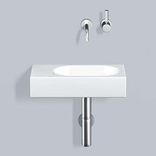 Alape Waschtisch WT.XXS450.R Weiß