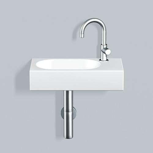 Alape Waschtisch WT.XXS450H.L Weiß