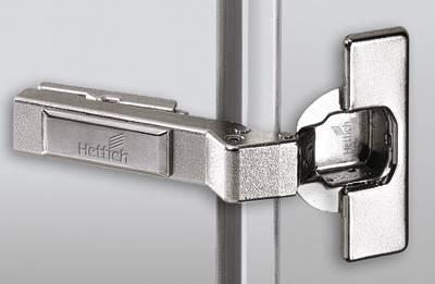 Schnellmontage-Topfscharnier Intermat 9936 W45 für Profiltüren / Winkelanschläge 20°