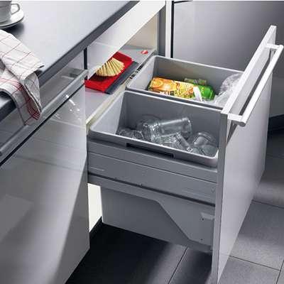 Abfalleimer Mülleimer und Abfallsammler Zum Einbau mit