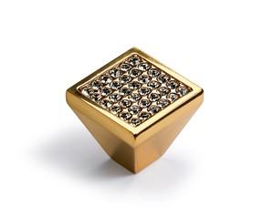 Möbelknopf Lodi 23 x 25 mm, Gold Optik