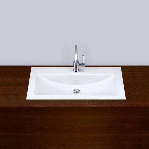 Alape Waschbecken EB.R800H Weiß