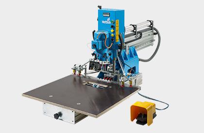 Bohr- und Einpressautomaten BlueMax