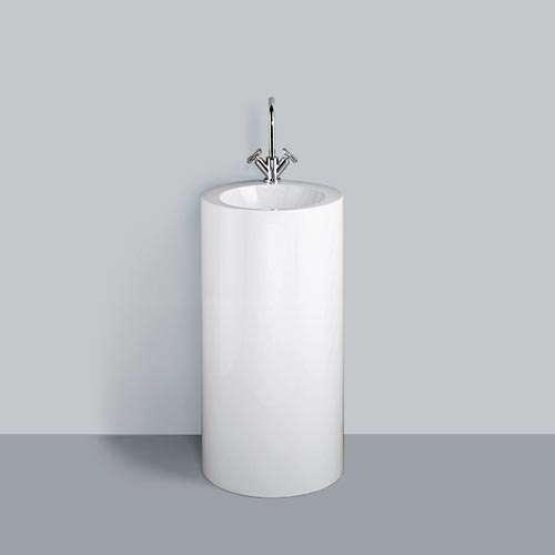 Alape Waschtisch WT.RX400KH Weiß