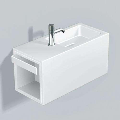 Alape Waschplatz WP.XS2 Weiß