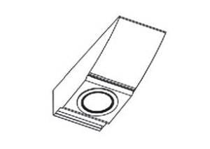 Carino Anbau-/ Kombinationsleuchte - Drehschalter für LED Leuchten oben