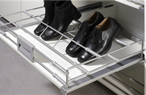 Schuh-, auszüge, beschlag, ablage von Hettich