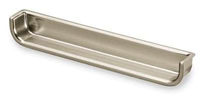 Einsetzgriff Genzone 131 mm, Edelstahl Optik