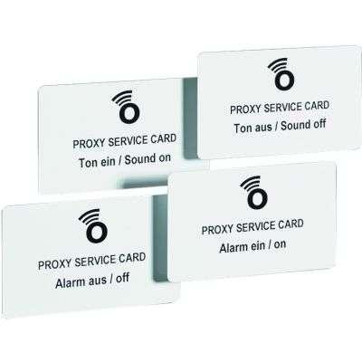Kartensets zum Einstellen der Master / Slave Proxy 125 kHz - Schlösser