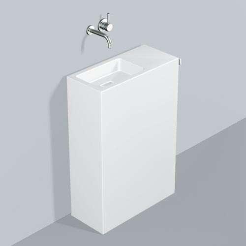Alape Waschplatz WP.INS7 Weiß