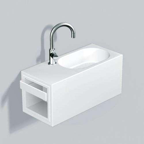 Alape Waschplatz WP.XXS2 Weiß