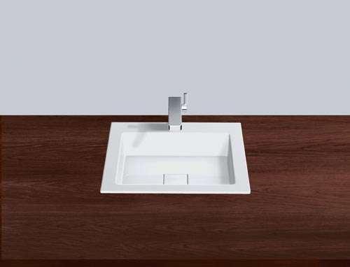 Alape Waschbecken EB.Q450H Weiß